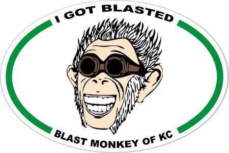 I got blasted Blast Monkey of KC copyrights