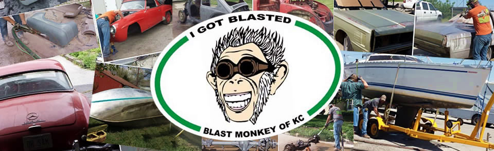 before and after images with I got blasted Blast Monkey of KC copyrights